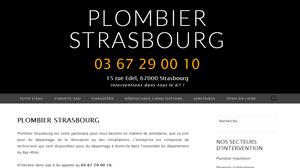 Plombier Strasbourg